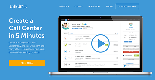 Talkdesk Reviews: Overview, Pricing and Features.