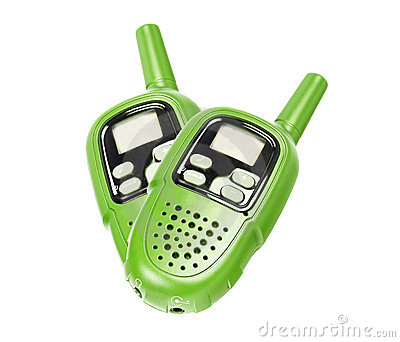Walkie Talkie Clipart.