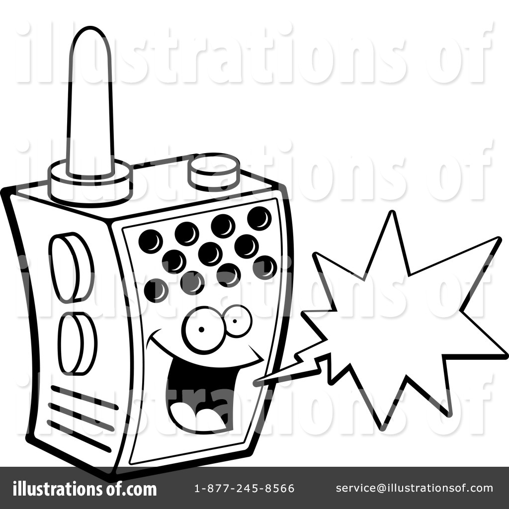Walkie Talkie Clipart #1151469.