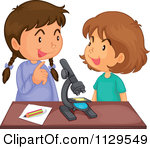 Student Talking In Class Clipart.