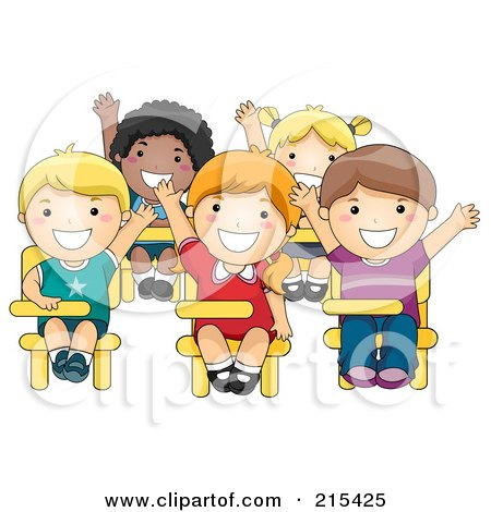 Images: Kids Talking In Class Clipart.
