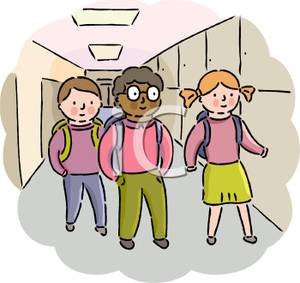 Talking in the hallway clipart Transparent pictures on F.