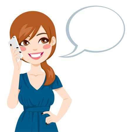 Talking on phone clipart 5 » Clipart Station.