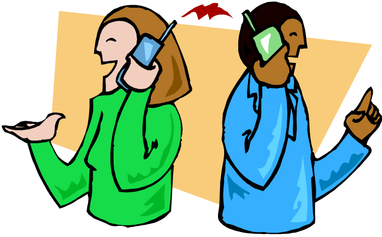 22+ Talking On The Phone Clipart.