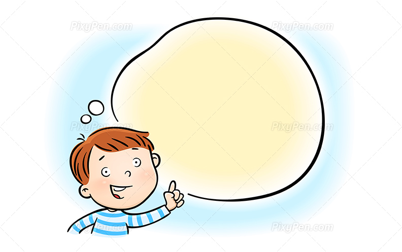 Clipart Baby Talking.