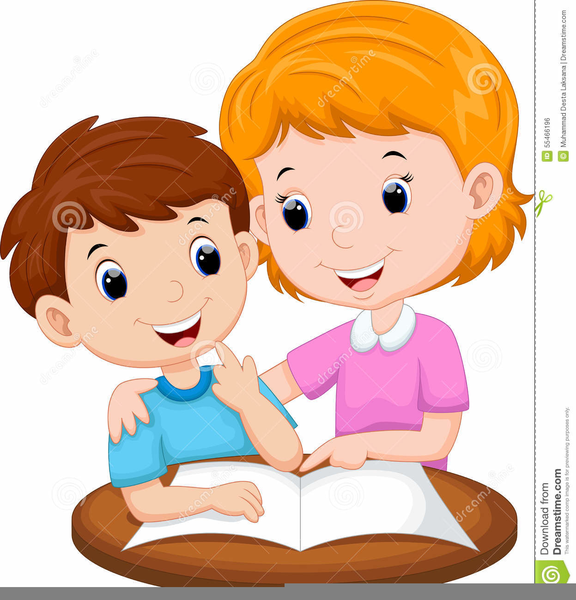 Child Talking To Teacher Clipart.