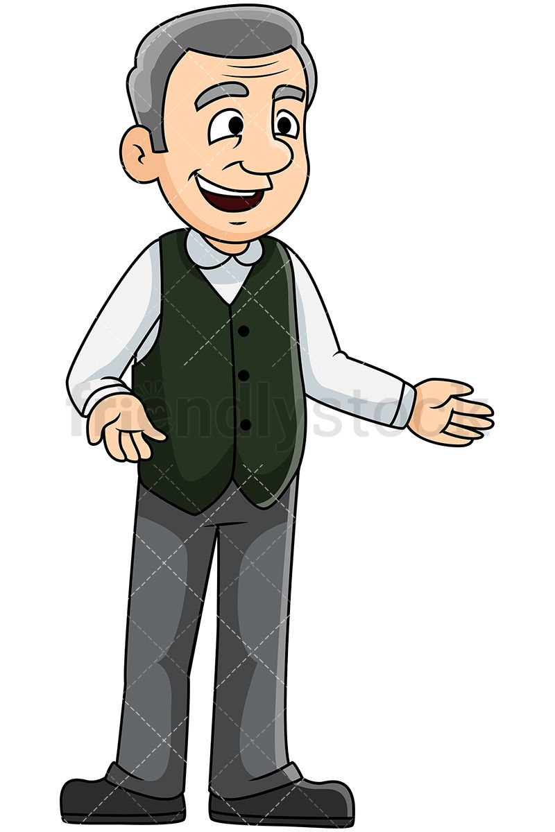 Pin on Mature People Clipart.