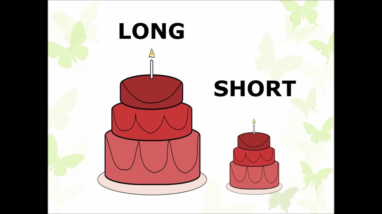 Short clipart long short object, Short long short object.