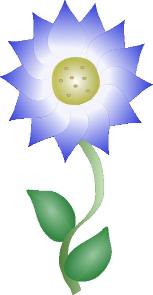 Purple Flower 4 Clip Art at Clker.com.