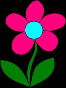 Tall Flower Clipart.