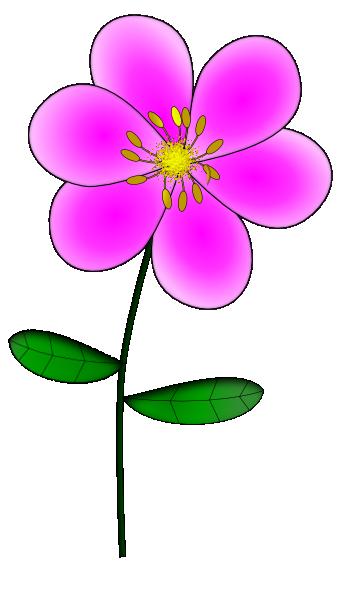 Purple Flower 8 Clip Art at Clker.com.