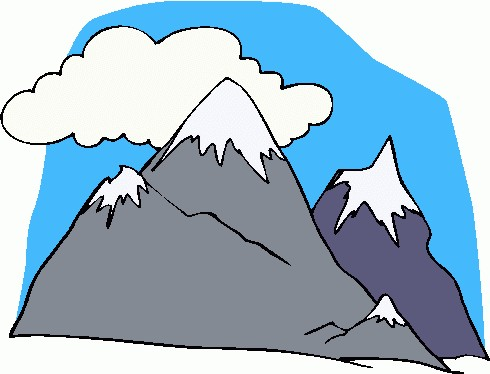 64 Free Mountain Clip Art.