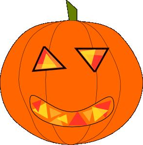 Tall Pumpkin Outline Clip Art.