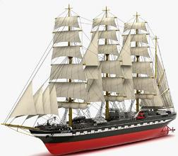 Free Tall Ships Clipart.