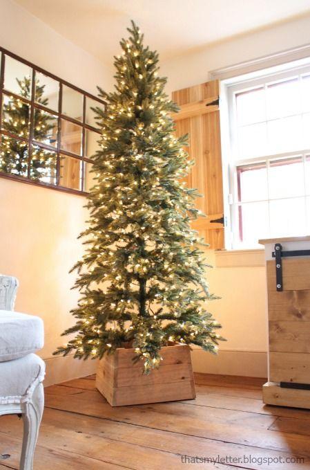 tall skinny christmas tree clip art - Clipground