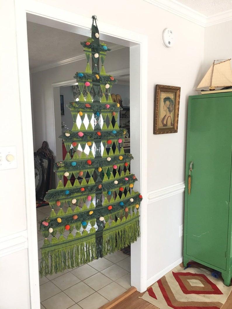 Bathroom : Tall Skinny Christmas Tree Ft Slim Flocked Real.