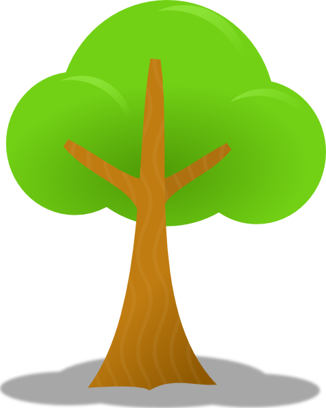 Tall Tree Clipart.