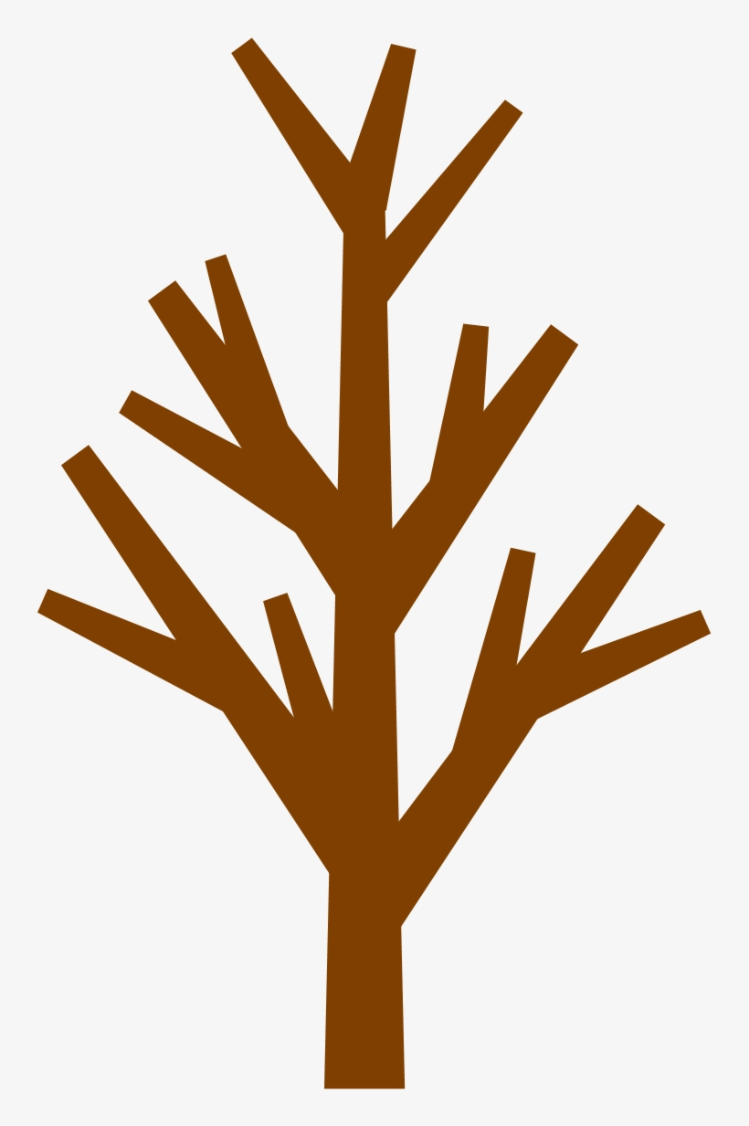 28 Collection Of Brown Tree Without Leaves Clipart.