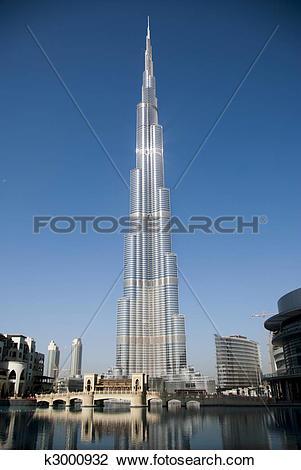 Stock Photo of Burj Dubai, also known as Burj Khalifa is the.