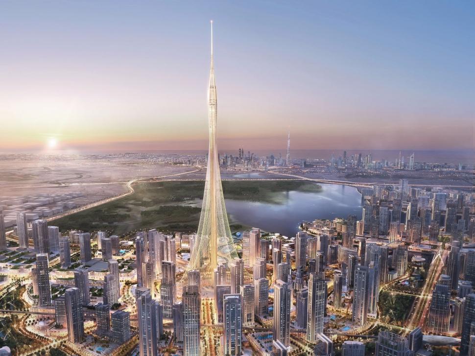 Dubai is building the world's tallest skyscraper.