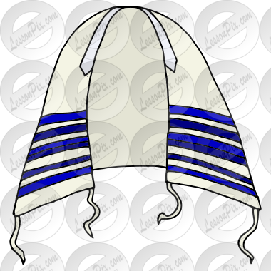 Tallit Picture for Classroom / Therapy Use.