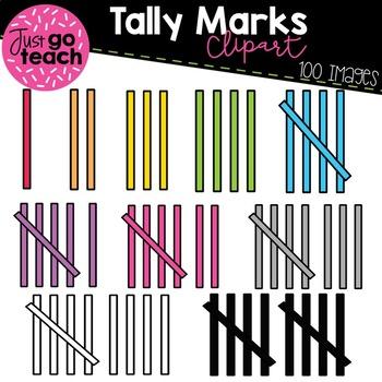 Tally Marks {Clipart}.