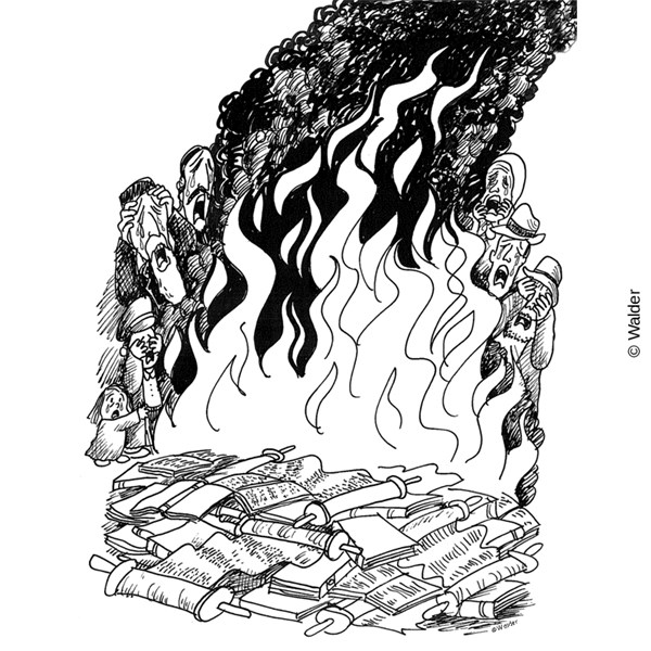 Burning of the Talmud.