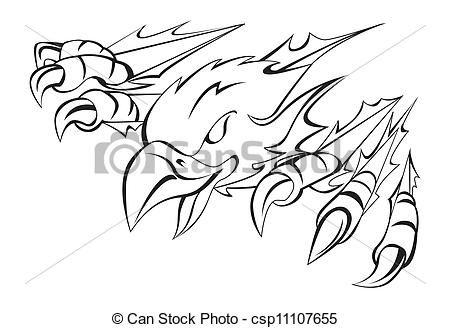 Hawk Talon Clip Art.