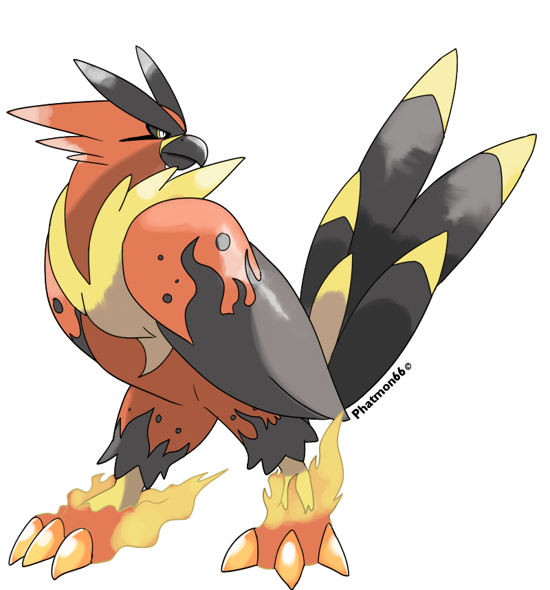 Talonflame Clipart.