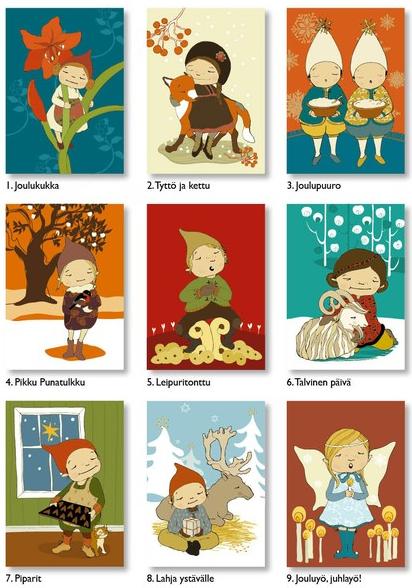 Habit of Art: Charming illustrations from Finnish artist Terese Bast.