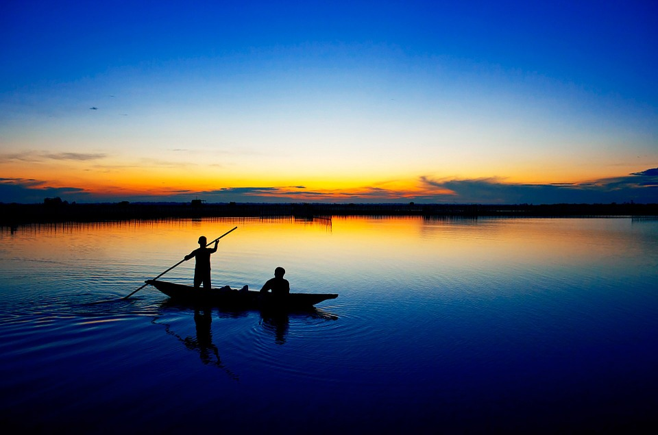 Free photo: Tam Giang Lagoon, Hue, Vietnam.
