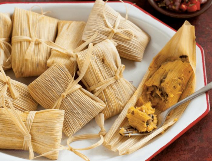 Dios Mio Tamales Recipe.