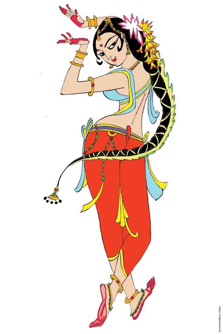 10 Best images about Indian Dance Illustrations & Art on Pinterest.