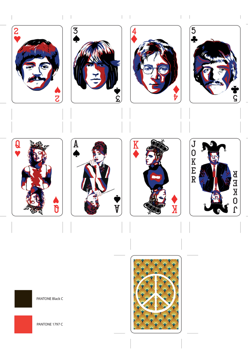 Bringing back the sixties : Deck of Cards.