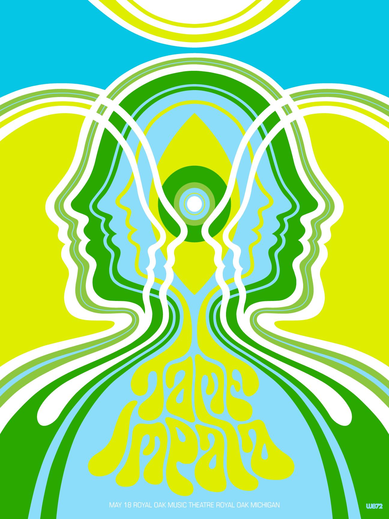 Tame Impala poster.