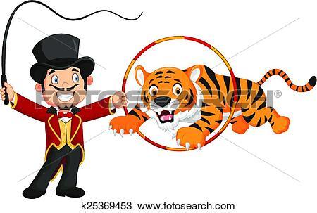 Tiger tamer Clip Art EPS Images. 27 tiger tamer clipart vector.
