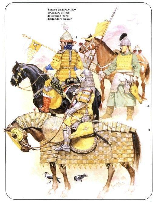 Conquests of Tamerlane, (1360.