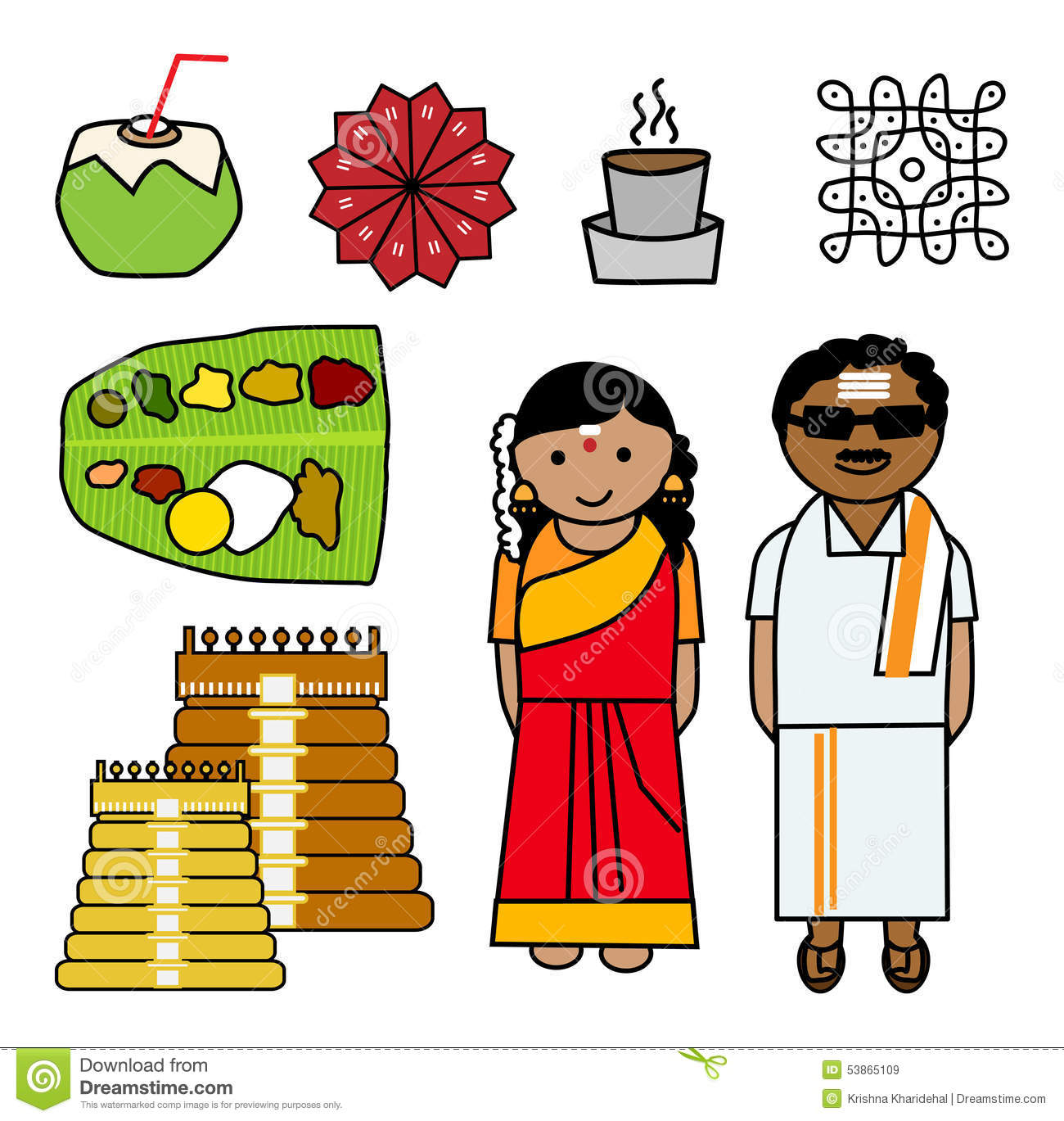 Tamil clipart.
