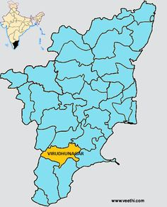 34 Best Tamil Nadu District Maps images.