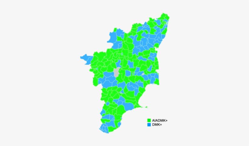 Tamil Nadu Legislative Election Map Updated.