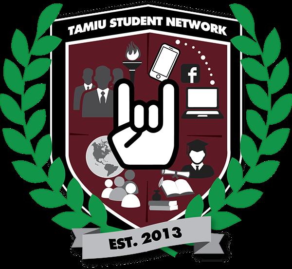 TAMIU Student Network Logo Design on Student Show.