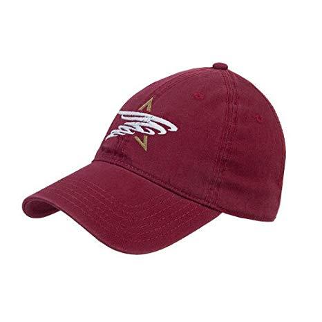 Amazon.com : TAMIU Maroon Twill Unstructured Low Profile Hat.