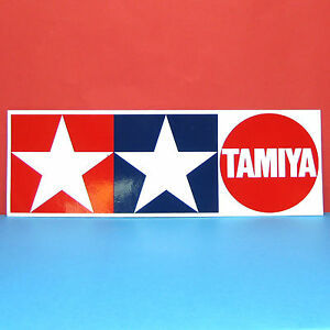 Details about Tamiya #66421 Tamiya Logo GP Sticker (89mm x 267mm) u.