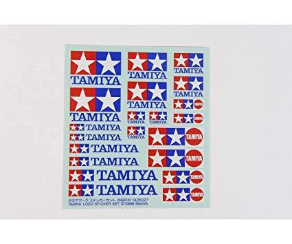 Amazon.com: Tamiya Logo Sticker Set TAM66614: Toys & Games.