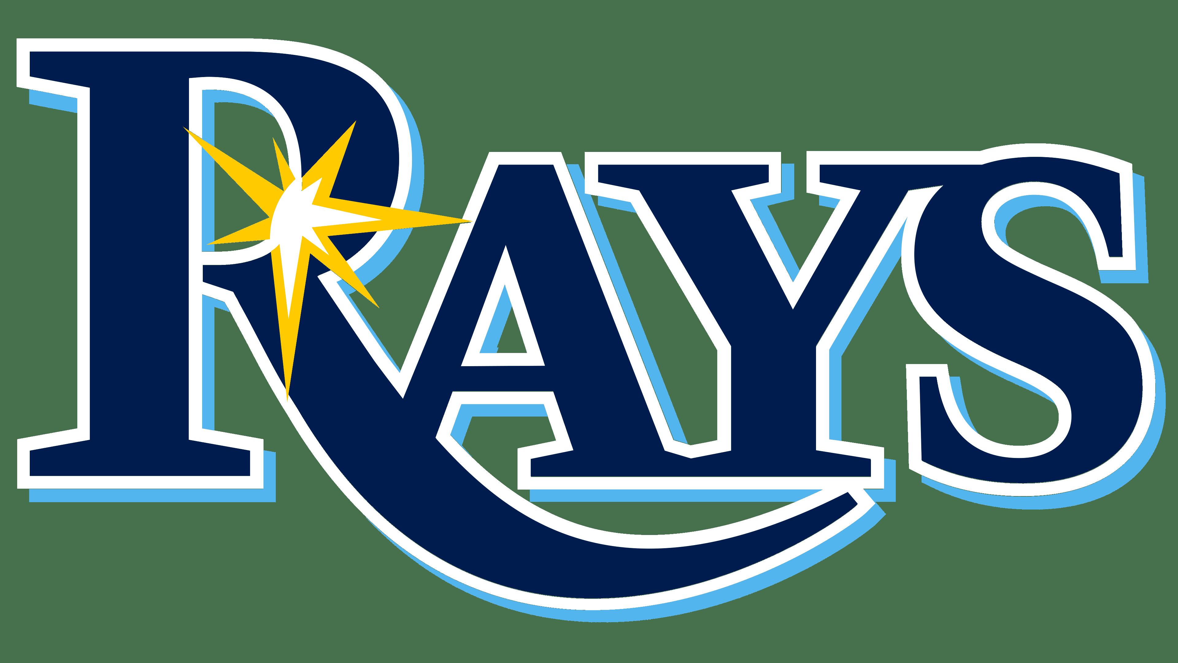 Tampa Bay Rays Logos.