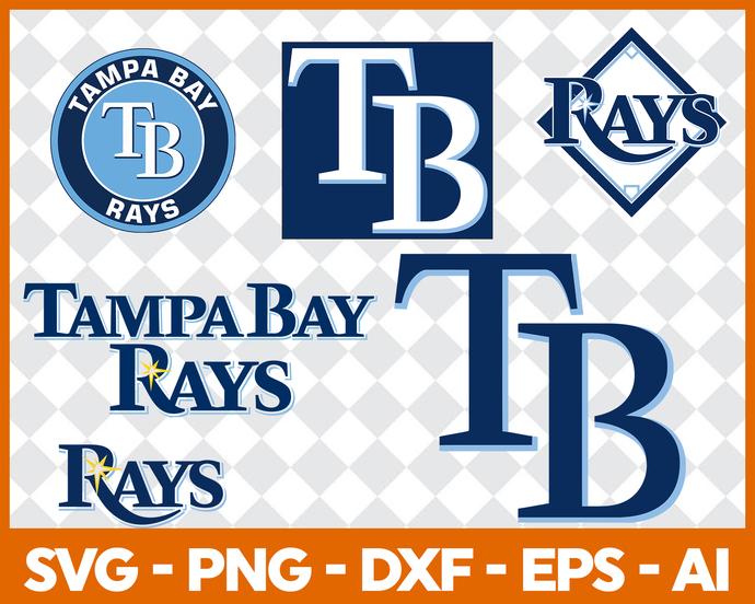 Tampa Bay Rays, Tampa Bay Rays svg, Tampa Bay Rays clipart, Tampa Bay Rays  logo, Tampa Bay Rays cricut.