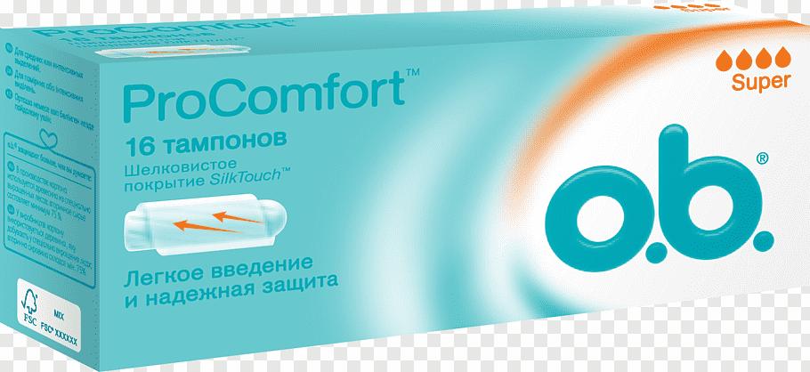 Tampon o.b. Feminine Sanitary Supplies Tampax Hygiene.