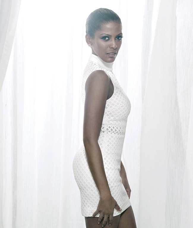 Tamron Hall on Her Personal Style & Helping Domestic Violence Victims.