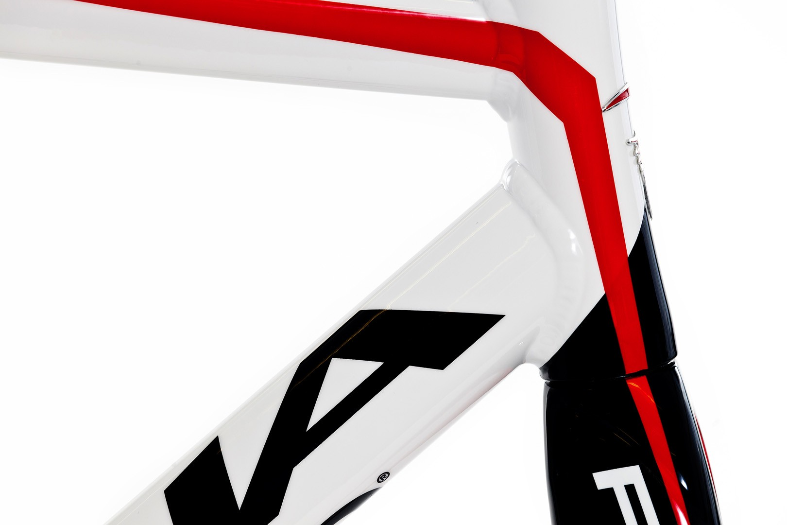 Pinarello Pista Frameset White/Red.