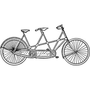 Tandem Coupling Clipart